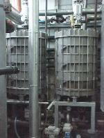 バイオガスプラントの加温、殺菌に最適なスパイラル熱交換器