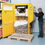 ブラミダン圧縮梱包機の操作方法1
