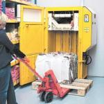 ブラミダン圧縮梱包機の操作方法2