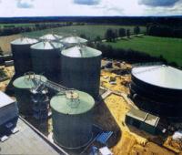メタン発酵槽、ガスホルダーなどバイオガスプラントのタンク類