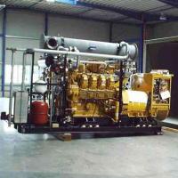 ガスエンジン、デュアルフューエルエンジンなどのバイオガス発電設備